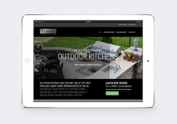 luxury outdoor builder website design
