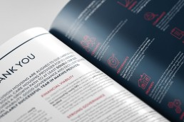 Annual report design altrincham