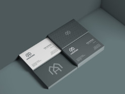 builder business card design altrincham